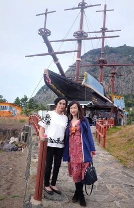 At the Entrance of Yongmeori Coast